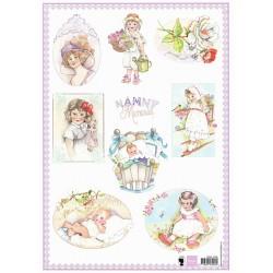 Papír A4 Nanny Memories 1 (MD)