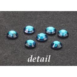 Hot-Fix kamínky Swarovski - akvamarín modré 3mm