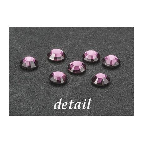 Hot- Fix kamínky růžové 4mm
