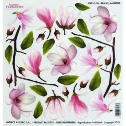 Sospeso folie 24x24 - větvičky magnolie