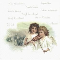 Andělé s houslemi 33x33