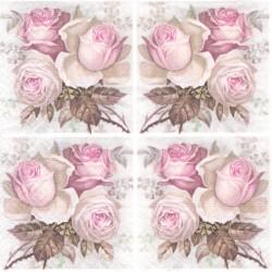 Čtyřikrát růže větší 33x33