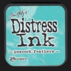 Distress Ink MINI polštářek - Peacock Feathers