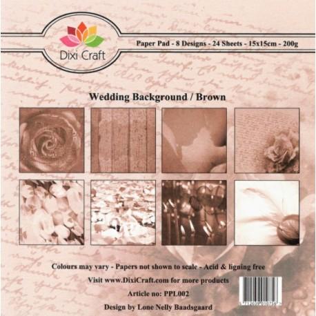 Sada papírů 15x15 Svatební Vintage (Dixi Craft)