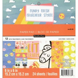 Sada papírů 15x15 Funky Fresh (Craft Smith)