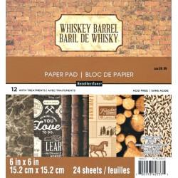 Sada papírů 15x15 Whiskey Barrel (Craft Smith)