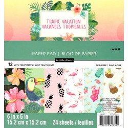 Sada papírů 15x15 Tropic Vacation (Craft Smith)