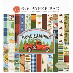 Sada papírů 15x15 Gone Camping