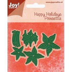 Vyřezávací šablony - vánoční hvězda (JC)