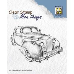 Transp.razítko Pro muže - starý automobil (Nellie´s Choice)
