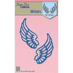Vyřezávací šablony - Křídla (Nellie´s Choice)