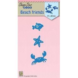 Vyřezávací šablony - Přátelé z pláže (Nellie´s Choice)
