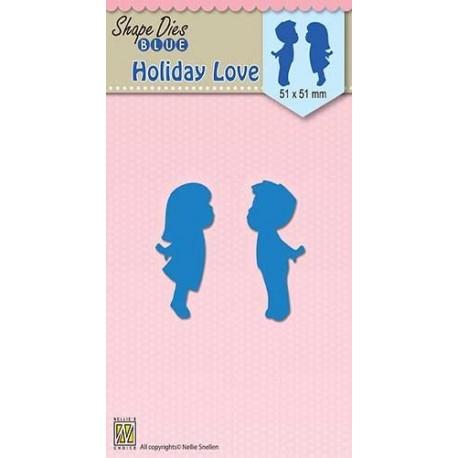 Vyřezávací šablony - Prázdninová láska (Nellie´s Choice)