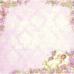 Lullaby, vzor 04 - 30,5x30,5 scrapbook