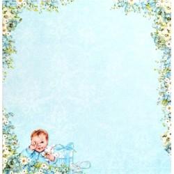 Lullaby, vzor 01 - 30,5x30,5 scrapbook