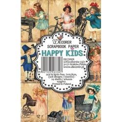 Sada scrap.kartiček 7x10,8cm - Happy Kids (Decorer)