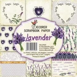 Sada papírů Lavender15x15 (Decorer)