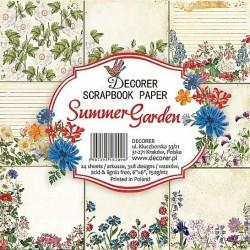 Sada papírů Summer Garden 15x15 (Decorer)