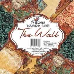 Sada papírů The Wall 20x20 (Decorer)