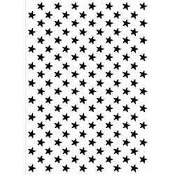 Embossovací kapsa - Pozadí z hvězdiček