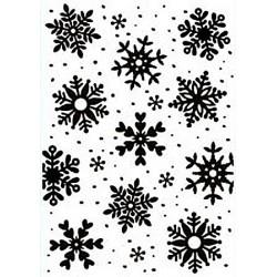 Embossovací kapsa - Sněhové vločky