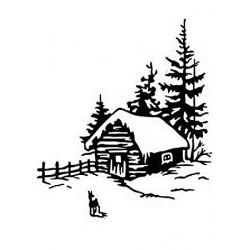 Embossovací kapsa - Zimní čas