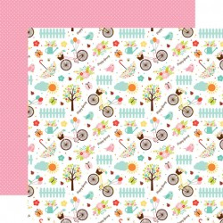 Happy Spring, oboustranný 30,5x30,5 (EP)