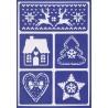 Šablona D94 - Skandinávské Vánoce