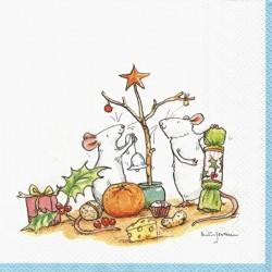 Malý vánoční stromek 33x33