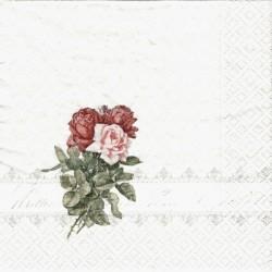 Tři růže v borduře 33x33