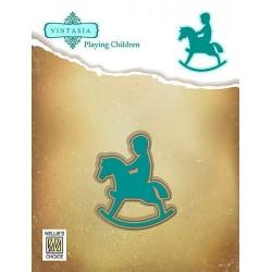 Vyřez.šablony - houpací koník (Nellie´s Choice)