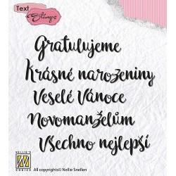 Transp.razítka - české texty (Nellie´s Choice)