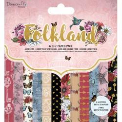 Sada papírů 15x15 Folkland (Dovecraft)