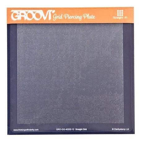 Akrylová deska pro děrování - body rovně (GROOVI)