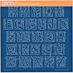 Akrylová deska - keltská abeceda (GP)