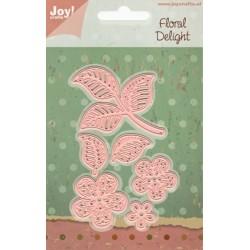 Vyřezávací šablony - filigránová květina (JC)