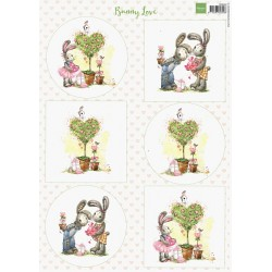Papír A4 Bunny Love (MD)