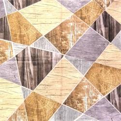 Dřevěná koláž 33x33