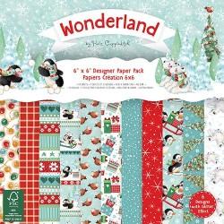 Sada papírů 15x15 Wonderland