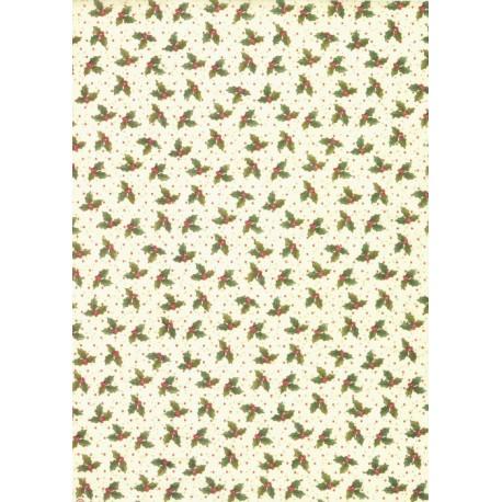 Papír rýžový A4 Pozadí s cesmínou