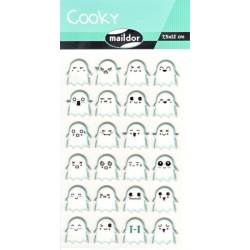 Samolepky Cooky - Duchové