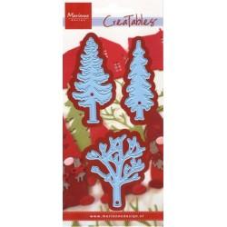 Vyřezávací šablony - Lesní stromy (MD)