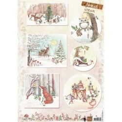 PapírA4 lesní sny 1 (MD)