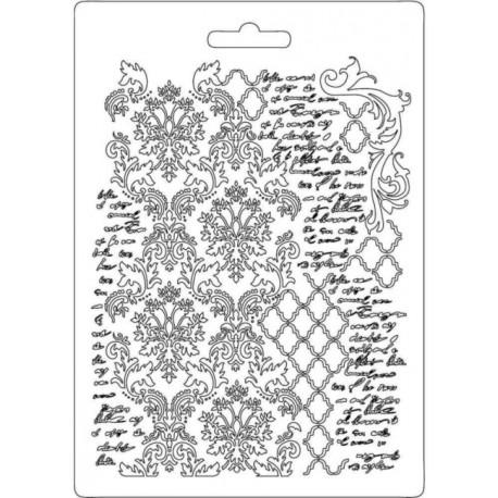 Forma A5 Arabeska, písmo (Stamperia)