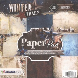 Sada papírů 15x15 Winter Trails č.97 (SL)