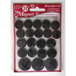 Sada magnetů 21ks, tři velikosti