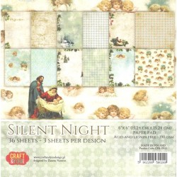 Sada papírů 15x15 Silent Night (Craft & You)