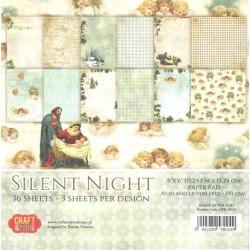 Sada papírů 15x15 Silent Night (Craft & You)