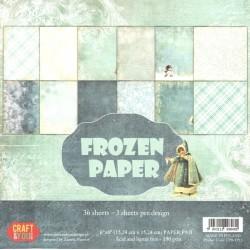 Sada papírů 15x15 Frozen Paper (Craft & You)