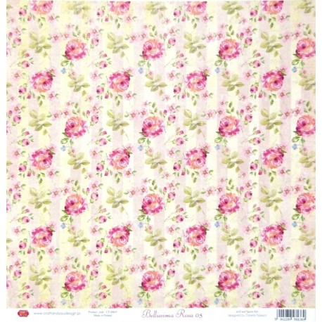 Bellissima Rosa 05 - 30,5x30,5 scrapbook (Craft&You)